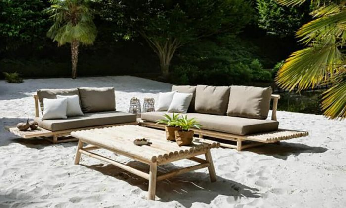 Dahan tuinmeubelen sofa set oosterse uitstraling